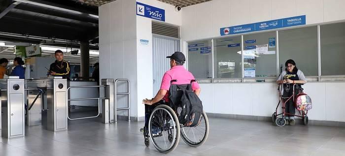 El MIO de Cali tendrá nuevos beneficios para personas en situación de discapacidad