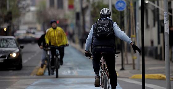 Presentado primer perfil ciclista en Santiago tras nueva Ley de Convivencia Vial