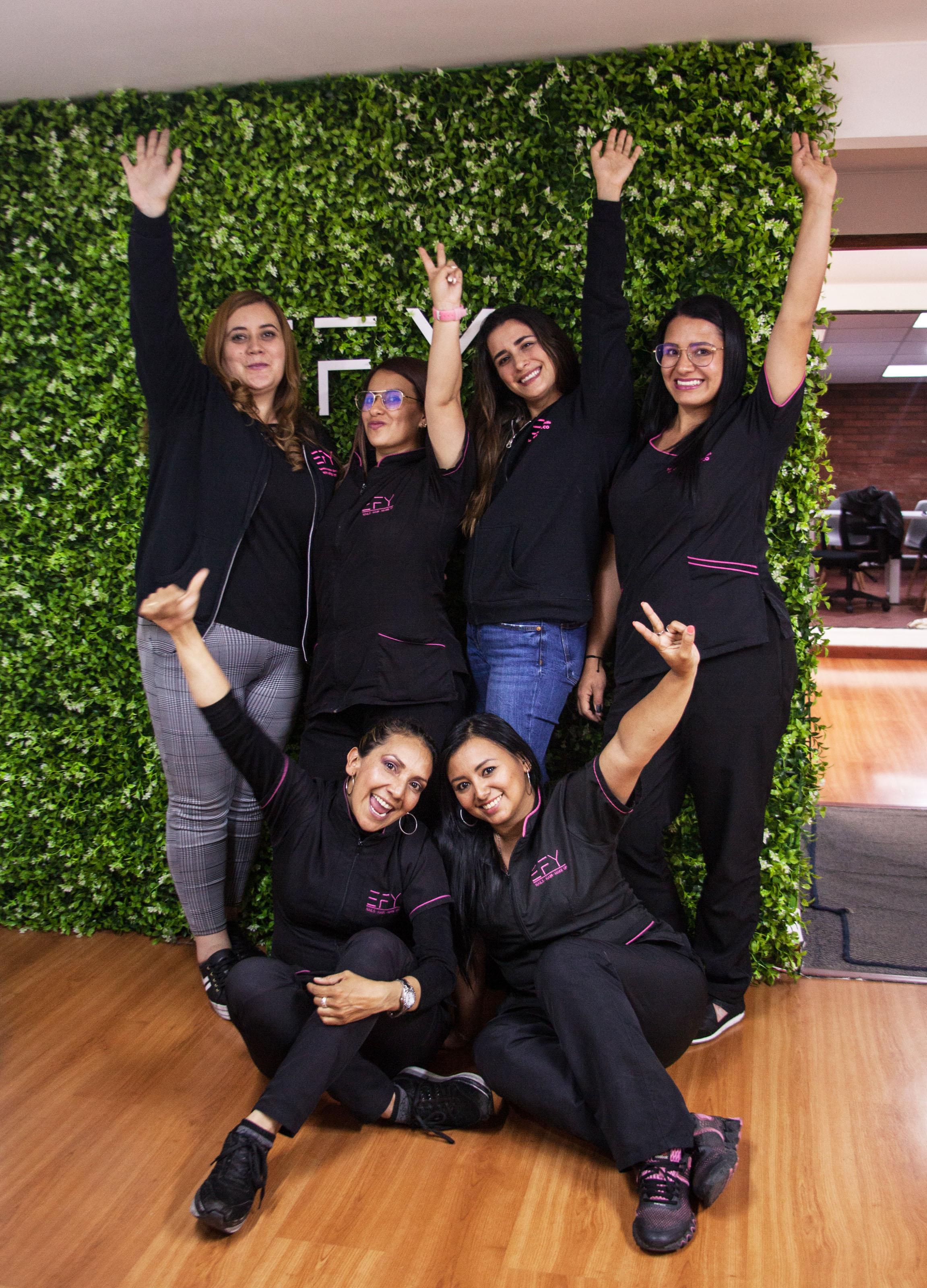 El 70% de las mujeres que hacen parte de EFY son mujeres cabeza de hogar.Foto: Jhonatan Acevedo