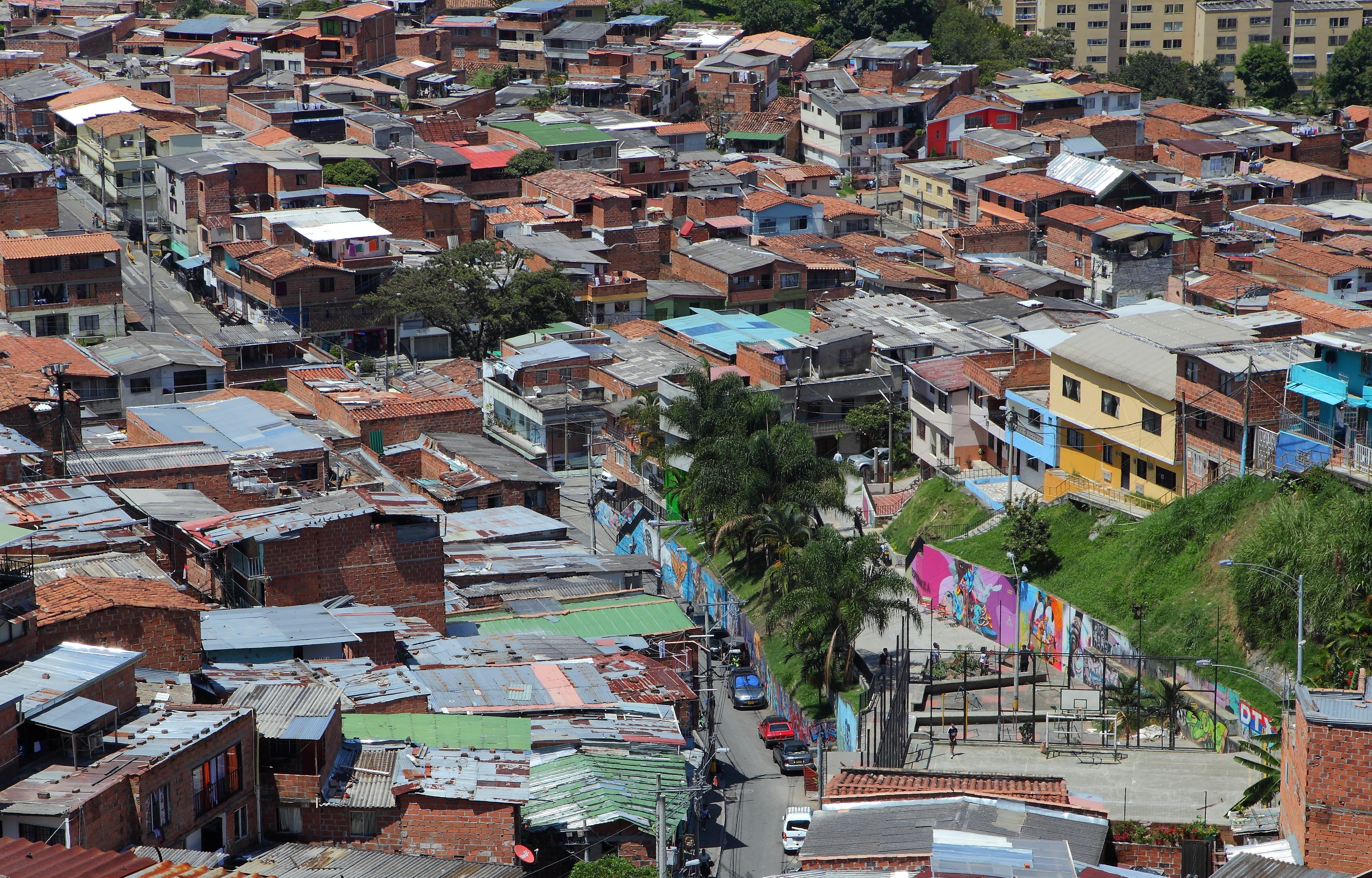 La Comuna 13 ha vivido y padecido distintos fenómenos sociales negativos que también han sido el motivo para que el arte se haya convertido en industria creativa gracias al talento de sus jóvenes y líderes. Foto: Óscar Tobón
