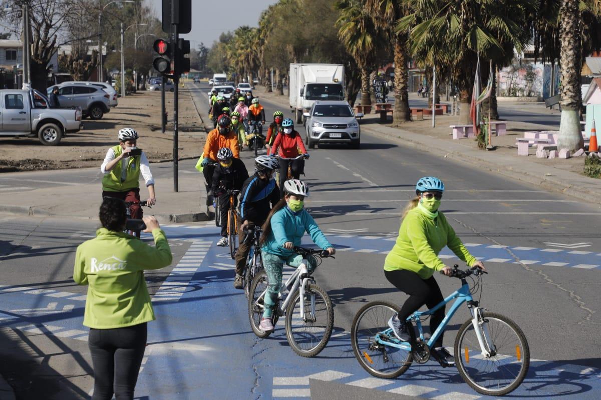 Se requiere más cicloinfraestructura para la integración de todas las comunas de Santiago
