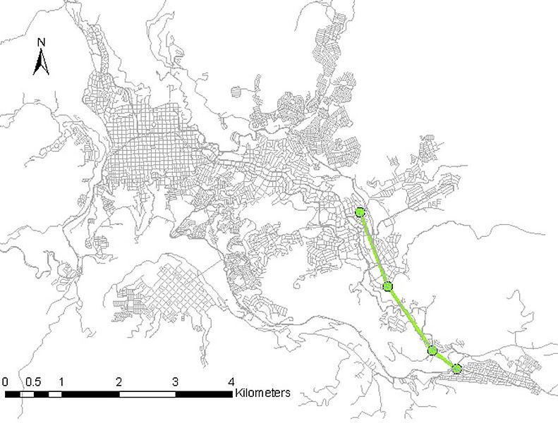 Academia propone trazado de tercera línea del cable aéreo de Manizales
