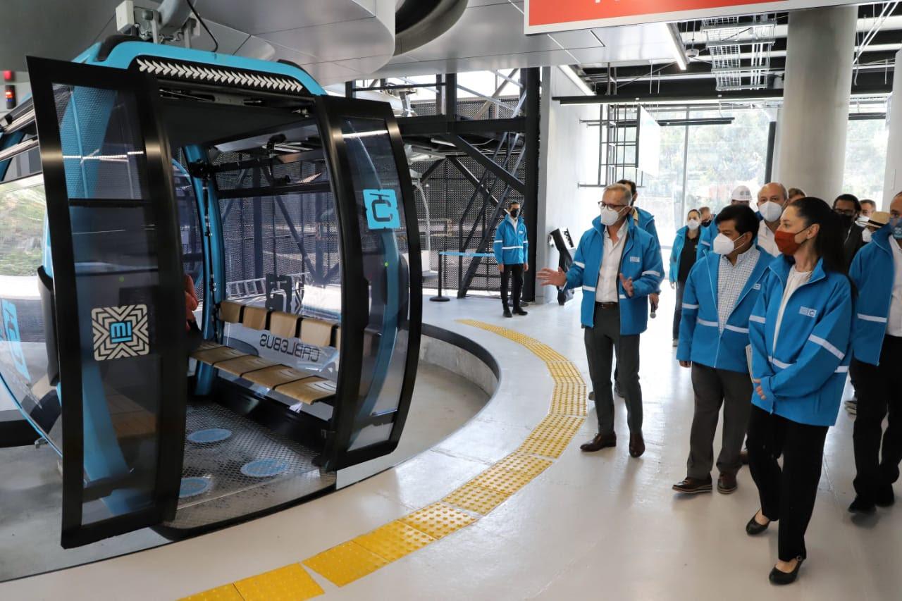 Ciudad de México estrena su primer metrocable