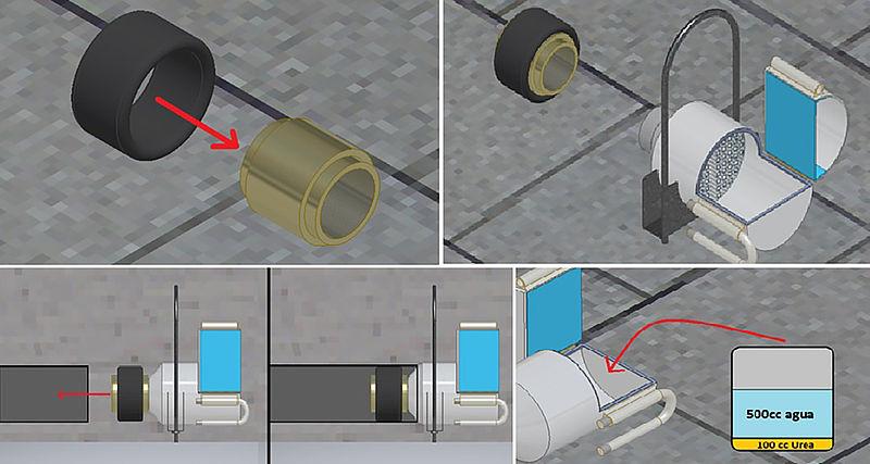 Filtro para carros retendría óxidos de nitrógeno y material particulado