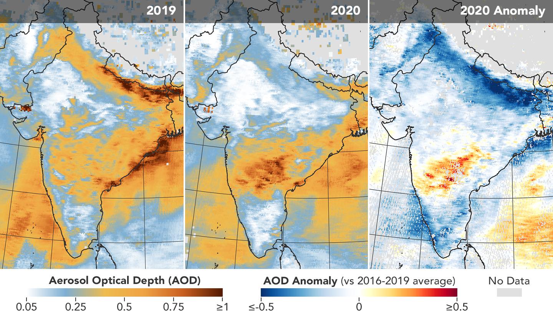Efectos de los cierres por COVID-19 sobre el clima parecen limitados y de corta duración